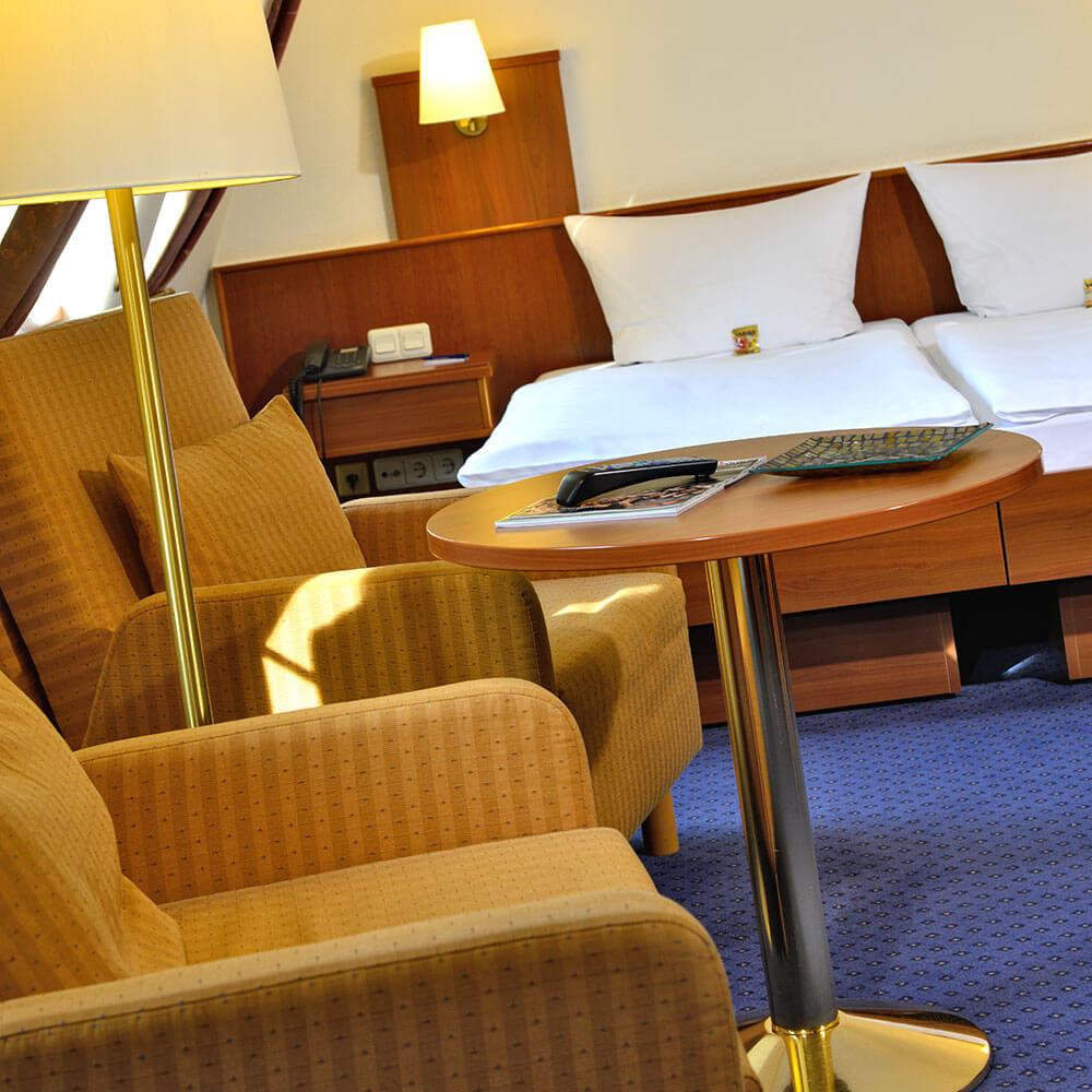 Gemütliche Zimmer im Hotel Haus Kronenthal